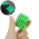 Bộ đồ chơi xếp hình nam châm 216 viên phát sáng - Buckyball Huỳnh Quang