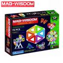 Bộ xếp hình nam châm Mag Wisdom 75 chi tiết chính hãng