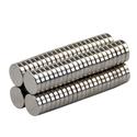 Đồ chơi bi nam châm dạng dẹp đường kính 10mm - dày 2mm Set 100 viên Strong Magnetic