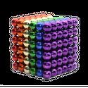 Trò chơi Bi Nam Châm 5mm Sắc Màu 216 Viên Bucky Balls