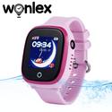 Đồng hồ định vị báo động từ xa Wonlex GW400X - Chống nước cảm ứng nghe gọi