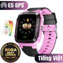 Đồng hồ định vị trẻ em E5 GPS (Hỗ trợ tiếng Việt) - Hot 2018 Top Trending Boba.vn