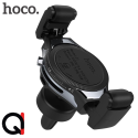 Đế sạc không dây kiêm kẹp điện thoại xe hơi Hoco S1 chính hãng