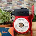 Máy bơm tăng áp máy giặt nước nóng mini 100w WESTONE WRS