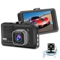 Camera hành trình D207 FullHD - Tích hợp camera lùi tự động chuyển