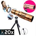 Lens chụp hình cho điện thoại Tele Zoom 20x H9 - Siêu xa có tripod đi kèm