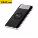 Pin dự phòng kiêm sạc không dây JOWAY JP150 chuẩn QI 10000mAh