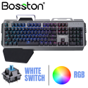 Bàn phím cơ Bosston MK918 - LED RGB đặc biệt