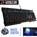 Bàn phím cơ Dareu CK525 104 keybab blue - Full size Led 7 màu Custom được
