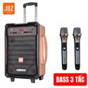 Loa kéo công suất lớn JBZ 1005  tặng kèm 2 mic không dây
