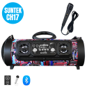 Loa xách tay karaoke Suntek CH M17