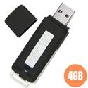 Máy ghi âm siêu nhỏ hình T33 USB ghi âm 4GB