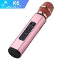 Micro bluetooth hát kara trên điện thoại K6 - Chính hãng Tuxun