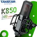 Bộ micro thu âm đỉnh cao Takstar PC K850 - Nguồn 48V kèm 2 dây XLR