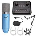 Combo mic ISK AT100, T8 Pro, Dây live, Chân màn kẹp