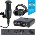 Combo mic Technical AT2020 Icon Mobile R HD 6000 MA1 Chân màn kẹp Full