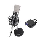 Micro thu âm Takstar PC K600 - Tặng kèm nguồn 48V Phantom và 2 dây XLR
