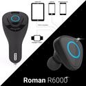Tai nghe bluetooth trên ôtô cao cấp Roman R6000 chính hãng