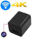 Camera mini wifi hình cốc sạc Iphone TX23 - 4K quay cực rõ nét