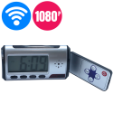 Camera theo dõi từ xa wifi đồng hồ để bàn Led có Remote TX209 - Full HD1080