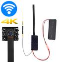 Camera giám sát giấu kín wifi V100 Plus 6 Led 4K - Quay đêm 24/24 không nóng
