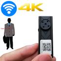 Camera ngụy trang cố định Cúc áo wifi X12 4K - Góc rộng 120 độ