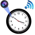 Đồng hồ treo tường camera giám sát giấu kín wifi DW775 - FullHD