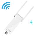 Bộ kích sóng Wifi Mecury 2 râu chinh hãng - Cổng USB sử dụng điện 5V