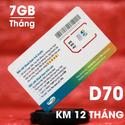 Sim Dcom 4G Viettel trọn gói 1 năm, mỗi tháng 7 GB tốc độ cao