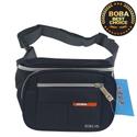 Túi đeo bụng hoặc đeo chéo Nuobida vải dù B575 - Full Black
