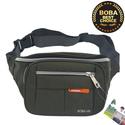 Túi đeo bụng hoặc đeo chéo Nuobida vải dù B577 - Full Brown