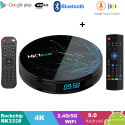 Android Box HK1 Max - Android 9.0 Ram 4GB 64GB Rom và Airmouse KM800V