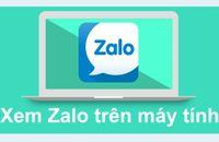 Hướng dẫn download và cài đặt Zalo cho máy tính PC