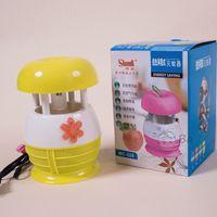 Lựa chọn đèn bắt muỗi và côn trùng quả táo đáng yêu cho gia đình