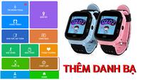 Hướng dẫn thêm dạnh bạ cho đồng hồ gọi điện trẻ em chỉ với 3 bước đơn giản