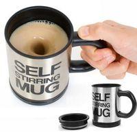 Tiện lợi với cốc tự khuấy Self Stirring Mug không dùng thìa