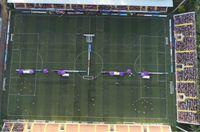 khai mạc bóng đá được ghi lại bởi chiếc flycam dji phantom 4 pro v2.0