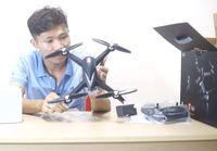 mở hộp flycam bugs 5w xem bên trong có gì ??