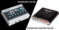 Sound card thu âm và sound card hát online khác nhau như thế nào cách phân biệt