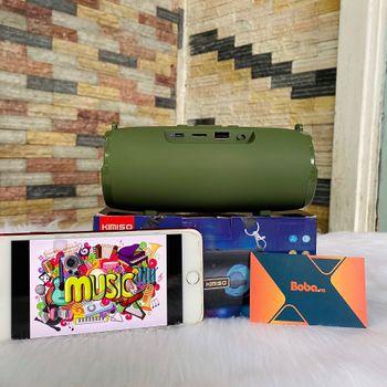 Loa Bluetooth Kimiso KMS 225- Thiết Kế Nhỏ Gọn Thời Trang