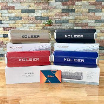 Loa Bluetooth KOLEER S218 công suất 10W - Âm hay BASS cực đã