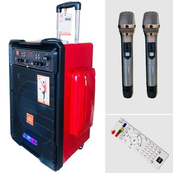 Loa kéo di động JBZ 0805 - Tặng kèm 2 micro không dây
