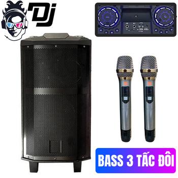 Loa kéo karaoke DJ 3 tấc rưỡi - Model K5 2018 siêu Hot