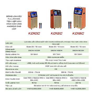 Loa kéo KODA KD12C chính hãng