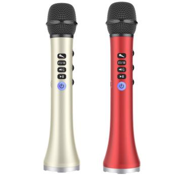 Micro bluetooth kiêm loa LS698 - 15W hỗ trợ kết hát trực tiếp trên Ôtô