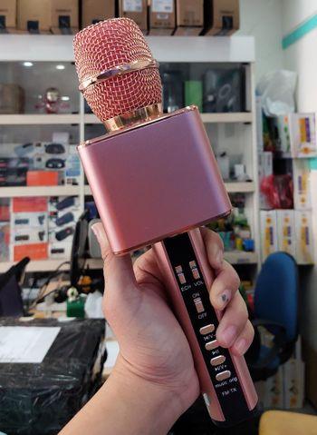 Micro karaoke kèm loa bluetooth SD-19 cao cấp