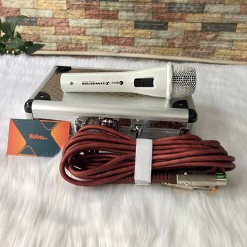 Mic karaoke sennheiser 868 hút âm chống hú cực tốt
