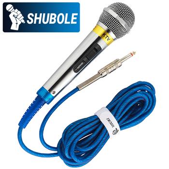 Micro có dây Shubole SL 688 - Dây xanh cực kỳ chuyên nghiệp