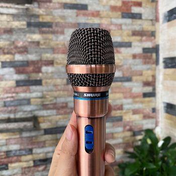 Micro có dây Shure GM-8.6 hát karaoke chính hãng