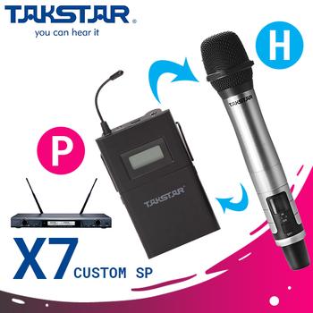 Bộ micro không dây karaoke cao cấp Takstar X7 - Có hỗ trợ Custom cho khách hàng Version H và P